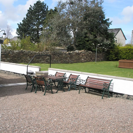 Dunvegan Holiday House Ullapool Garden