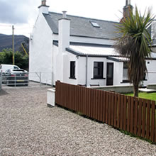 Dunvegan Holiday House Ullapool Car Parking