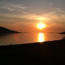 Dunvegan Holiday House Ullapool Sunset