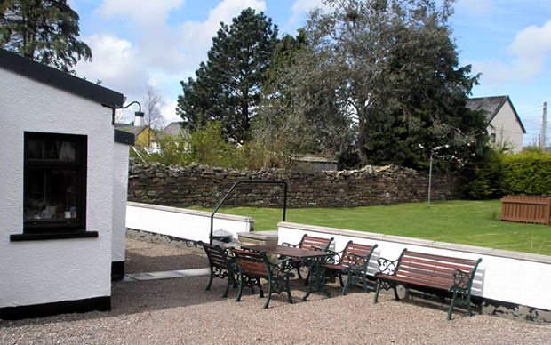 Dunvegan House, Garden