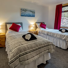 Dunvegan Holiday House Ullapool Twin Bedroom